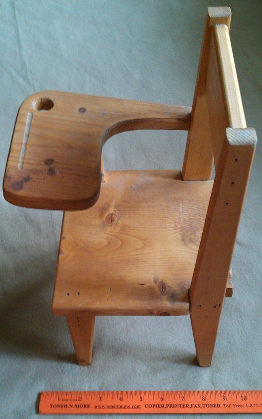 doll furniture school study chair for american other